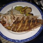 Fried Red snapper!