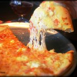 Hot Delicious 4 Cheese Pizza SO ONO!!