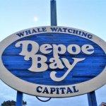 Depot Bay, Oregon. Home of Gracie's Sea Hag restaurant.