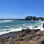Ocean view across from Gracie's Sea Hag Restaurant