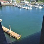 Depot Bay, world's smallest harbor