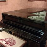 One of the pianos on which Puccini performed and composed his pieces