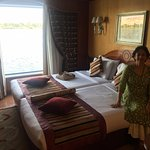 Our Cabin on the Cruise Ship Amaro 1