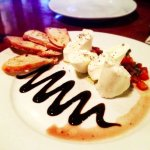 Yummy AND pretty burrata..