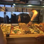 Pizza selection
