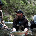 Delights of fly fishing Photo credit Hooke