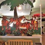 Interior of Lil Sambo's restaurant
