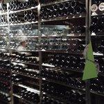 Nice wine cellar -