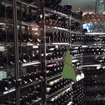 The other side of the wine cellar -