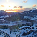 And the sun sets on a magical place @ Hoshino Tomamu Ski Resort