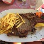 T-bone steak. Great value at 13.50 Euros