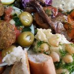 Israeli cuisine delicious food fresh