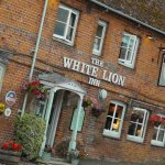 The White Lion, lovely old pub.