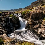 Watkin Path waterfall