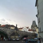 View from our room in Certovka (Charles Bridge)