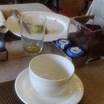 Baño, desayuno bufet