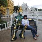 Wat Rong Khun Foto