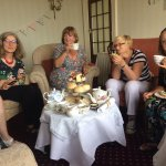 A lovely farewell and end of term gathering. Cream teas were delicious and plentiful, vintage cr