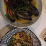 Mussels and Quail, Entree