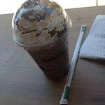 frappuccino al cioccolato con panna