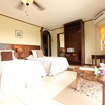 Room 5 Hotel with king or three twin bed make up