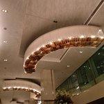 Ceiling of lobby
