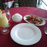 Sweet and Sour Pork, Mango Shake, plain rice, p551