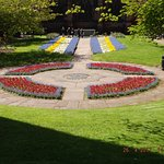 One of the Flower beds in Grosvenor Park