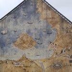 Mural on St Michaels mount