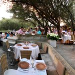 lovely open air dining
