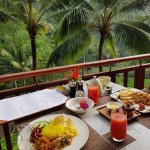 Breakfast at Ayung Terrace