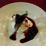 3 course dinner at night -dessert