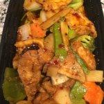 Szechuan Bean Curd - menu item 111.  July 2017