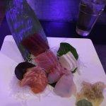 sashimi presentation