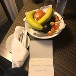I've been here twice in the month on business and the hotel recognized me. How nice!