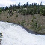 The Fast Flowing Bow River.
