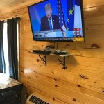 Luxury Cabin with Led TV and over 200 Channels