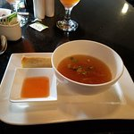 Sring roll and sweet & sour soup