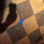 """X"" marks the spot where Elvis stood to record ""Are You Lonesome Tonight"""
