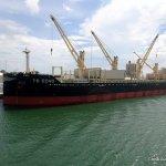TS Echo in port