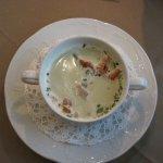 Suppe mit Speck