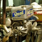 More than 200 early outboards are on display in our recently renovated engine exhibit.