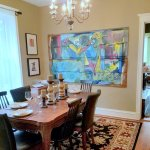 Chicago Guest House on Newport Ave_1st Floor Clark Suite_Formal Dining Room