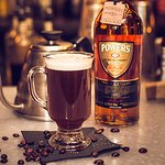 Powers Irish Coffee, we are one of the closest bar to where Powers was originally distilled in 1