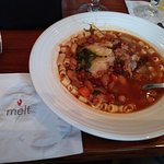 Pasta fagioli at Melt (with sausage)