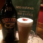 Dont leave Dublin until you've had one of these... a Baileys Irish Latte, simply delicious.