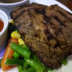 Mouth watering Aberdeen Angus beef Steak