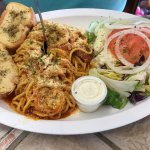 Cuban Spaghetti at the Latin American Cafe