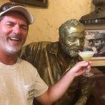 Sharing my daiquiri with Hemingway