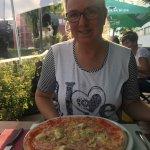 Pizza - einer der Schwerpunkte im Angebot